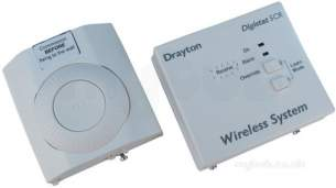 Invensys Domestic Controls and Programmers -  Drayton Rf601 Digistat Plus Rf Room T/stat