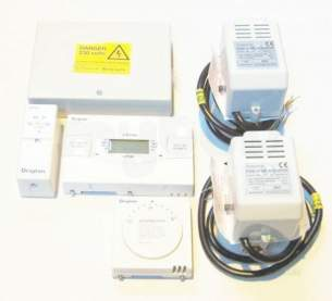 Invensys Domestic Controls and Programmers -  Drayton Twinzone 86 Pack Lp522 Pbte86