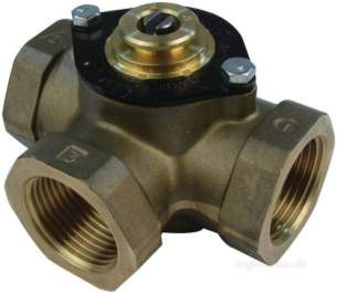 Satchwell Industrial Controls -  Tac Mbx 4501 1 3port Lphw Valve Cv-8.0