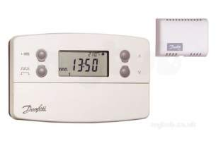 Danfoss Randall Domestic Controls -  Danfoss Tp7000ma Prog Room Stat Plus Rem Sen