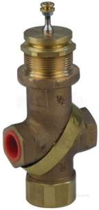 Satchwell Industrial Controls -  Tac Mzx 4402 1/2 3port Lphw Valve Cv-2.5