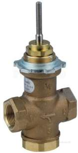 Satchwell Industrial Controls -  Tac Mz 3452 3/4 3port Hphw Valve Cv-4.0