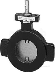 Landis and Staefa Hvac -  Siemens Vkf 41 100mm 2port Flange Butt Valve 760