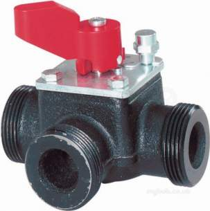 Landis and Staefa Hvac -  Siemens Vbg 31 25 25mm 3port Valve Kv-10