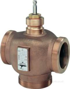 Landis and Staefa Hvac -  Siemens Vxg 41 15/c 15mm 3port Valve Kv-4.0