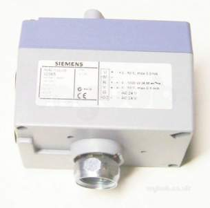 Landis and Staefa Hvac -  Siemens Sqs 65 24v 0-10vdc Low Torque Act
