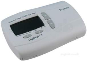 Invensys Domestic Controls and Programmers -  Drayton Digistat Plus 3 24ov 7day