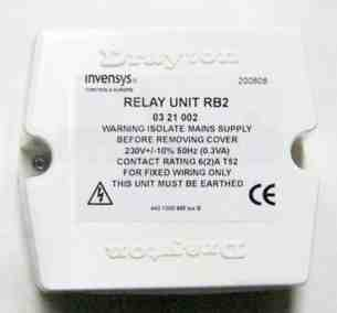 Invensys Valves and Actuators -  Drayton Rb.2 Relay Flowshare.2 03 21 002