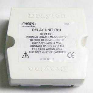 Invensys Valves and Actuators -  Drayton Rb.1 Relay Flowshare.1 03 21 001