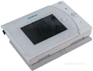 Siemens Domestic Controls -  Siemens Rev17 5/2 Prog Room Stat