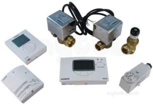 Siemens Domestic Controls -  Siemens Mixed Zone With Rdh Plus Bpv Pack