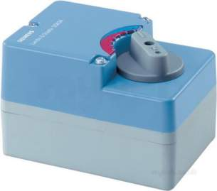Landis and Staefa Hvac -  Siemens Sqk 84 00 24v Ac Actuator 3 Position