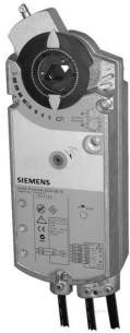 Landis and Staefa Control Systems -  Siemens Gca 126 1e S/r 24v 16n/m Plus 2 Aux Sw