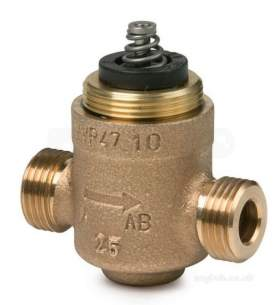 Landis and Staefa Hvac -  Siemens Vvp45.40-25/c 40mm 2 Port Valve