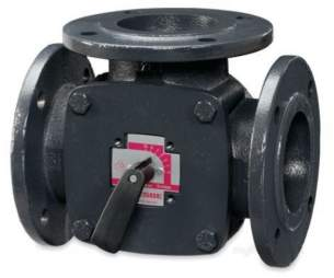 Esbe Limited -  Esbe 3f 125mm 3port Flange Iron Valve Kv-280