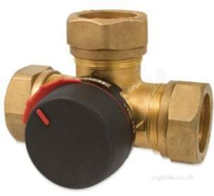 Esbe Limited -  Esbe Vrg133 3 Way Valve 22mm Cv- 4.00