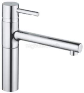 Grohe Kitchen Brassware -  Grohe 32105dc0 Essence Kitchen Mixer Sus