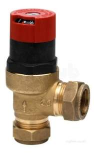 Honeywell Domestic Controls and Programmers -  Honeywell Du145b 22mm Diff By-pass Valve