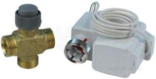 Honeywell Commercial HVAC Controls -  Honeywell Val 3p20e-2.5 20mm 3port Valve Plus Actuator