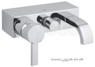 Grohe Tec Brassware -  Allure 32148 Wall Mtd Single Lvr Bsm