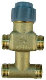 Honeywell V5833c1025 Valve 4 Port 15mm Cv0.63