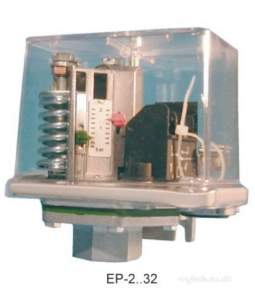 Electro Controls -  Ecl Ep 16 Air/oil/steam Press Switch