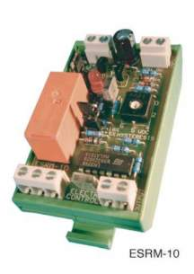 Electro Controls -  Ecl Esrm 10 Single Relay 24vac/dc Input