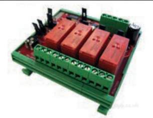 Electro Controls -  Ecl E4 Rm 4 Stage Relay 24vac/dc 0-10vdc