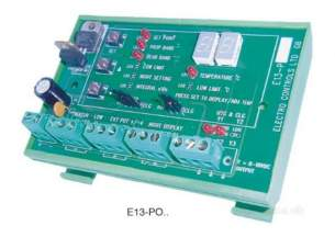Electro Controls -  Ecl E13 P04 1 Stage Din Rail Controller