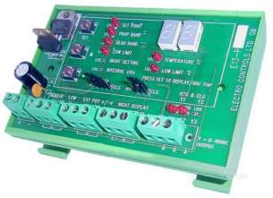 Electro Controls -  Ecl E13 Pl2 2 Stage Din Rail Controller