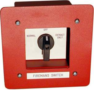 Electro Controls -  Elc Efm-5 Switch Firemans Knob Operated