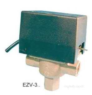 Electro Controls -  Elc Ezv-313 Valve Motorised 3 Port 3/4