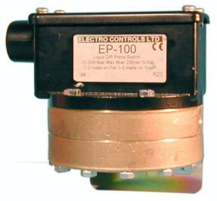 Electro Controls -  Electro Controls Ep-114w Pressure Switch Liquid Difference .07/1bar