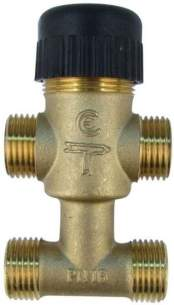 Satchwell Industrial Controls -  Tac 7410534010 Valve 4 Way 15mm Cv-1.0