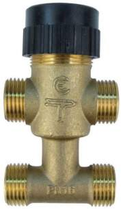 Satchwell Industrial Controls -  Tac 7410536010 Valve 4 Way 15mm Cv-2.0
