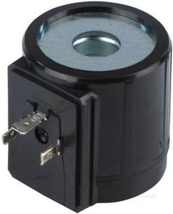 Black Automatic Gas Controls -  Black Me 428 230v Spade Coil For 3/4 Inch Vlv