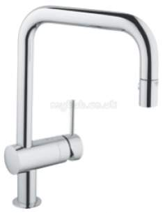 Grohe Kitchen Brassware -  Grohe 32322000 Minta Kitchen Mixer Pos Cp