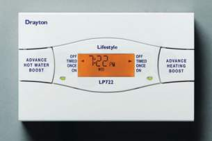 Invensys Domestic Controls and Programmers -  New Drayton Lp722 7day Programmer