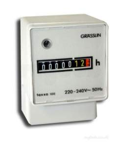 Grasslin Uk Ltd -  Gra Uwz 48a 240v Surface Hour Run Meter