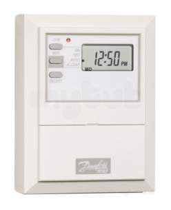 Danfoss Randall Timeclocks and Programmers -  Danfoss 087n653800 White 103e7 7 Day Electronic Time Switch