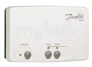 Danfoss Randall Timeclocks and Programmers -  Danfoss Rx 2 Two Channel Receiver