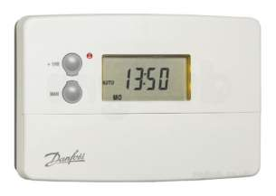 Danfoss Randall Timeclocks and Programmers -  Danfoss 087n789900 White Ts715 Si Single Channel Programmers