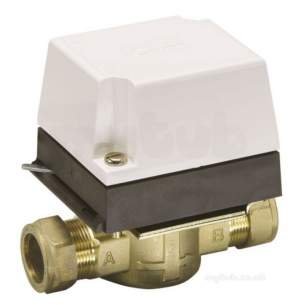 Danfoss Randall Domestic Controls -  Danfoss 087n664400 White Hp28b 2 Port Valve 28mm With Hpa2 Actuator