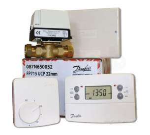 Danfoss Randall Domestic Controls -  Danfoss Fp715 22mm Unvented Control Pack