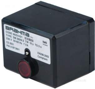 Black Automatic Gas Controls -  Black Sm592 Control Box Auto 230v