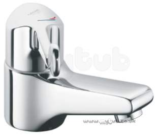 Grohe Tec Brassware -  Grohe Euroeco Ssc 33108 Basin Mixer 120 Lever Cp