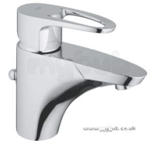 Grohe Tec Brassware -  Grohe Europlus 33155 Single Lvr Basin Mixer P/out Spt