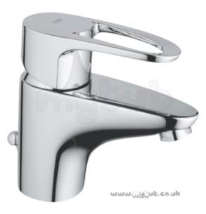 Grohe Tec Brassware -  Grohe Grohe Europlus 33156 Small Mono Lvr Basin Mixer