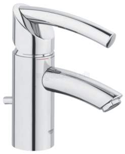 Grohe Tec Brassware -  Grohe Tenso 33347 Hp Basin Mixer Ch