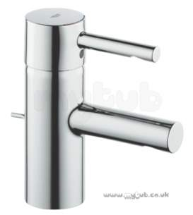 Grohe Tec Brassware -  Grohe Essence Basin Mixer Pop Up Waste